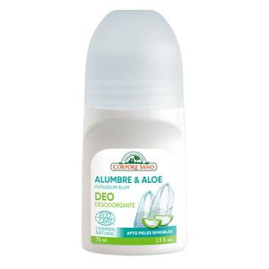 Deo roll-on mineral Protector Corpore Sano Potassium Alum i Aloe Vera