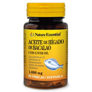 Aceite de hígado de bacalao 1000 mg. Nature Essential