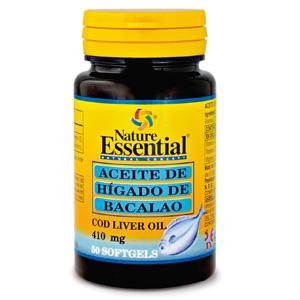 Aceite de hígado de bacalao 410 mg. Nature Essential