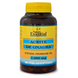 Aceite de onagra 1000 mg. Nature Essential 100 perlas
