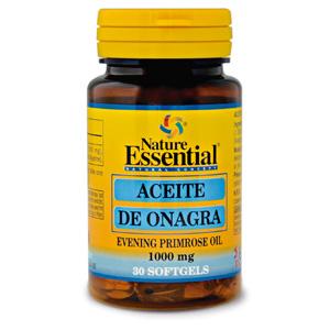 Aceite de onagra 1000 mg. Nature Essential 30 perlas