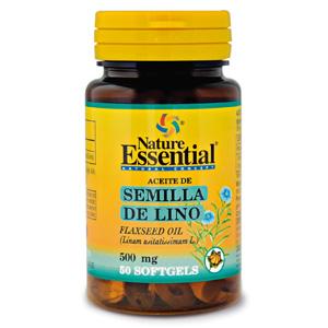 Aceite de semilla de lino 500 mg. Nature Essential