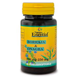 Borraja & onagra 500 mg. Nature Essential