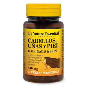 Cabellos, uñas & piel 540 mg. Nature Essential
