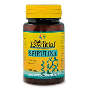 Espirulina 400 mg. Nature Essential 100 comp