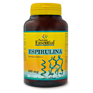 Espirulina 400 mg. Nature Essential 250 comp