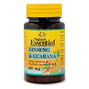 Ginseng & guaraná 400 mg. Nature Essential