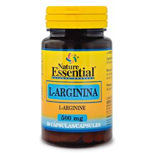 L-arginina 500 mg. Nature Essential