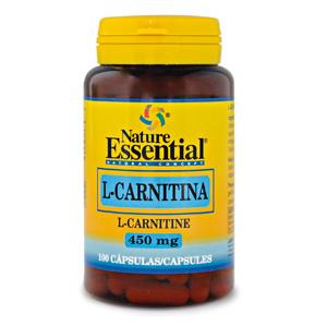 L-carnitina 450 mg. Nature Essential