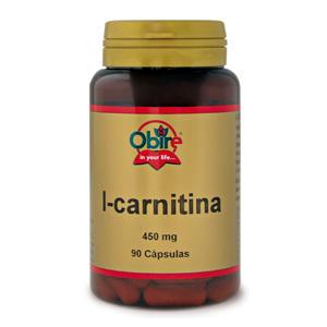 L-carnitina 450 mg. Obire