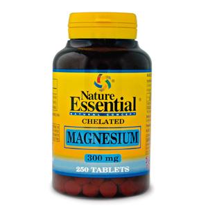 Magnesio 300 mg. Nature Essential 250 comp
