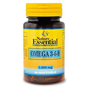 Omega 3-6-9 1000 mg. Nature Essential