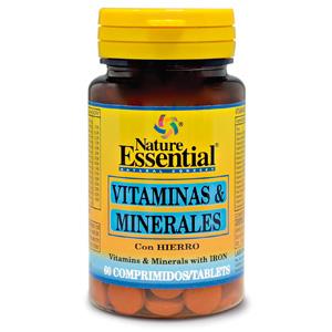 Vitaminas & minerales Nature Essential