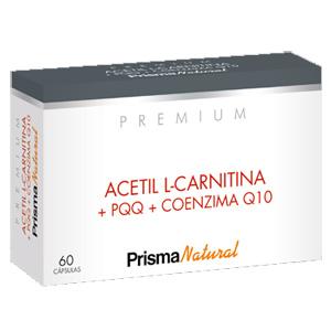 ACETIL L-CARNITINA+PQQ + COENZIMA Q10 Prisma Natural