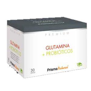 GLUTAMINA+PROBIÒTICS Prisma Natural